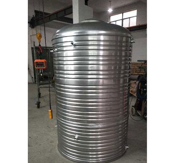 圆形2吨冷水箱