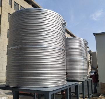 不锈钢圆型保温水箱